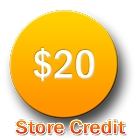 NDV Store Credit Gift Card - 20 Points
