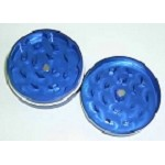 Diamond Grind 2 Part Aluminum Colored Grinder Medium