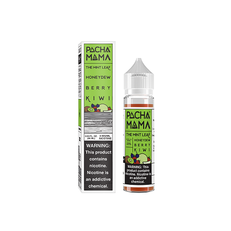 The Mint Leaf Honeydew Berry Kiwi Pachamama E-Liquid 60mL
