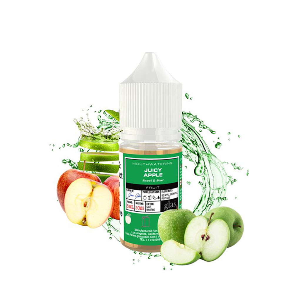 Juicy Apple Glas Basix Salt E-Liquid 30mL