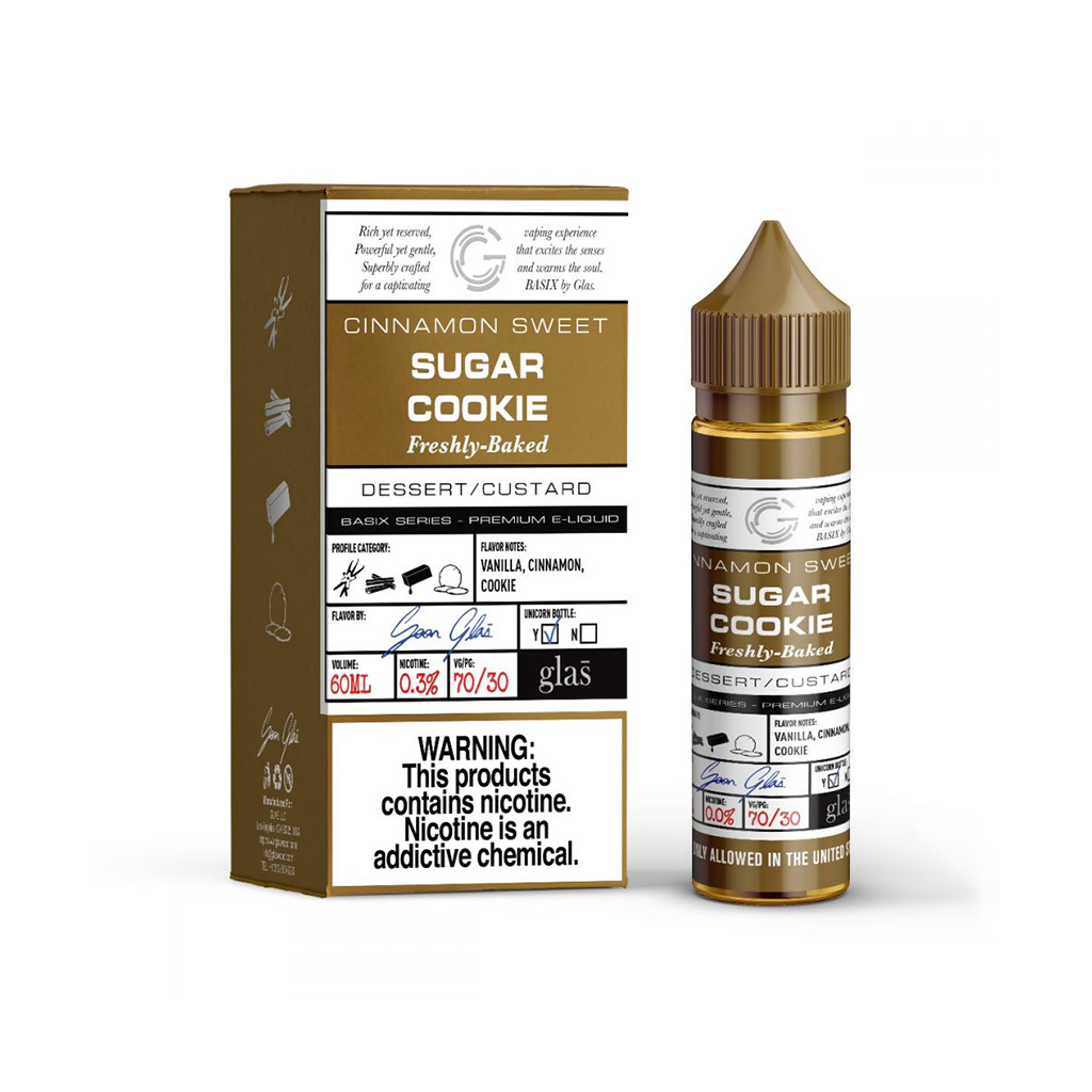 Sugar Cookie Glas Basix E-Liquid 60mL