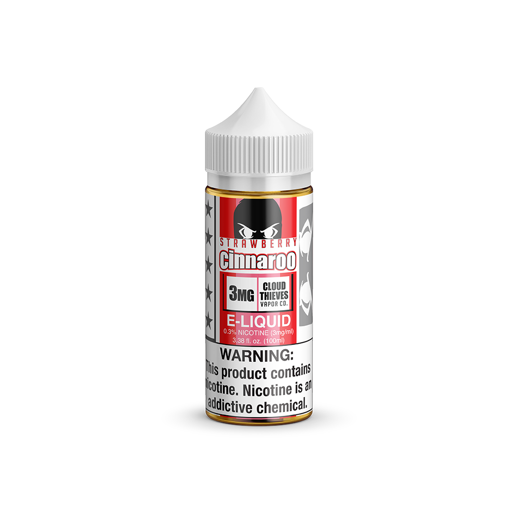 Strawberry Cinaroo Cloud Thieves E-Liquid 100mL