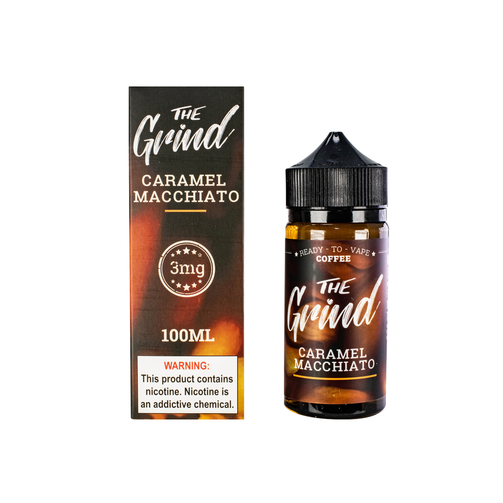 Caramel Macchiato The Grind E-Liquid 100mL