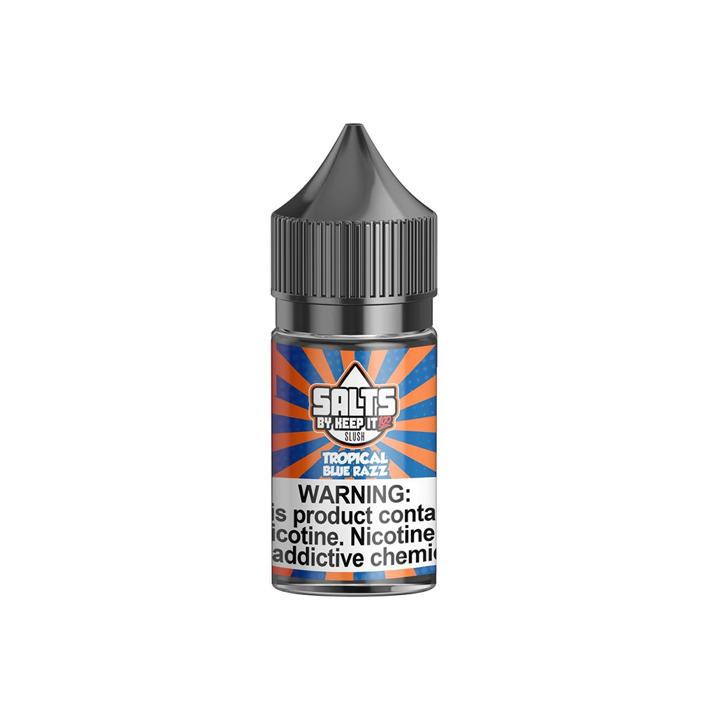 Blue Slushie Tropical Keep It 100 Salt E-Liquid 30mL