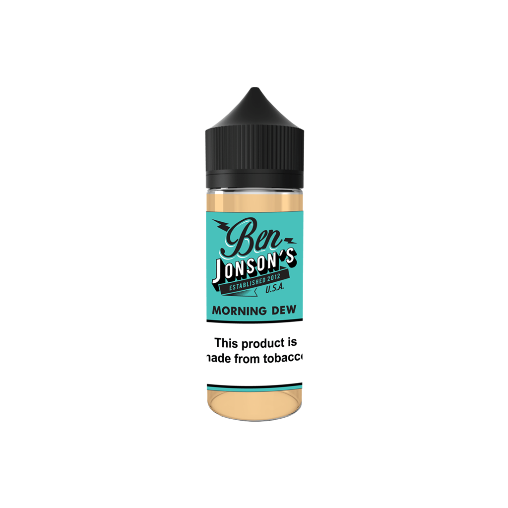 Morning Dew Ben Jonson's E-Liquid 120mL