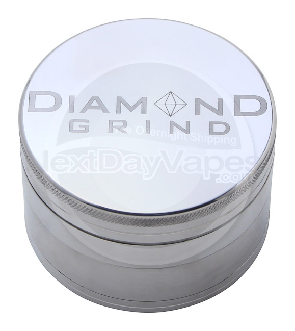 Diamond Grind 4 Part Aluminum Magnetic Grinder Extra Large