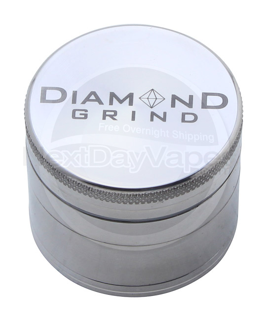Diamond Grind 4 Part Aluminum Magnetic Grinder Small