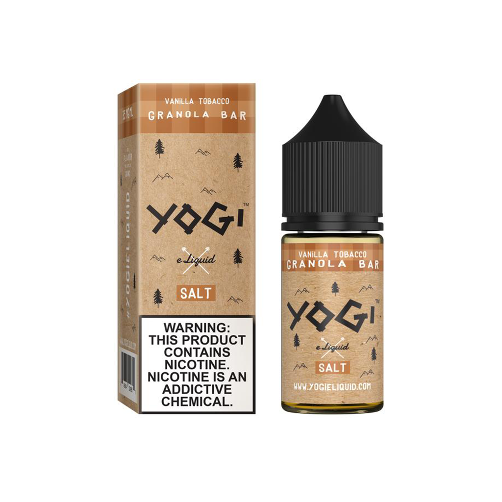 Vanilla Tobacco Granola Bar Yogi Salt E-Liquid 30mL