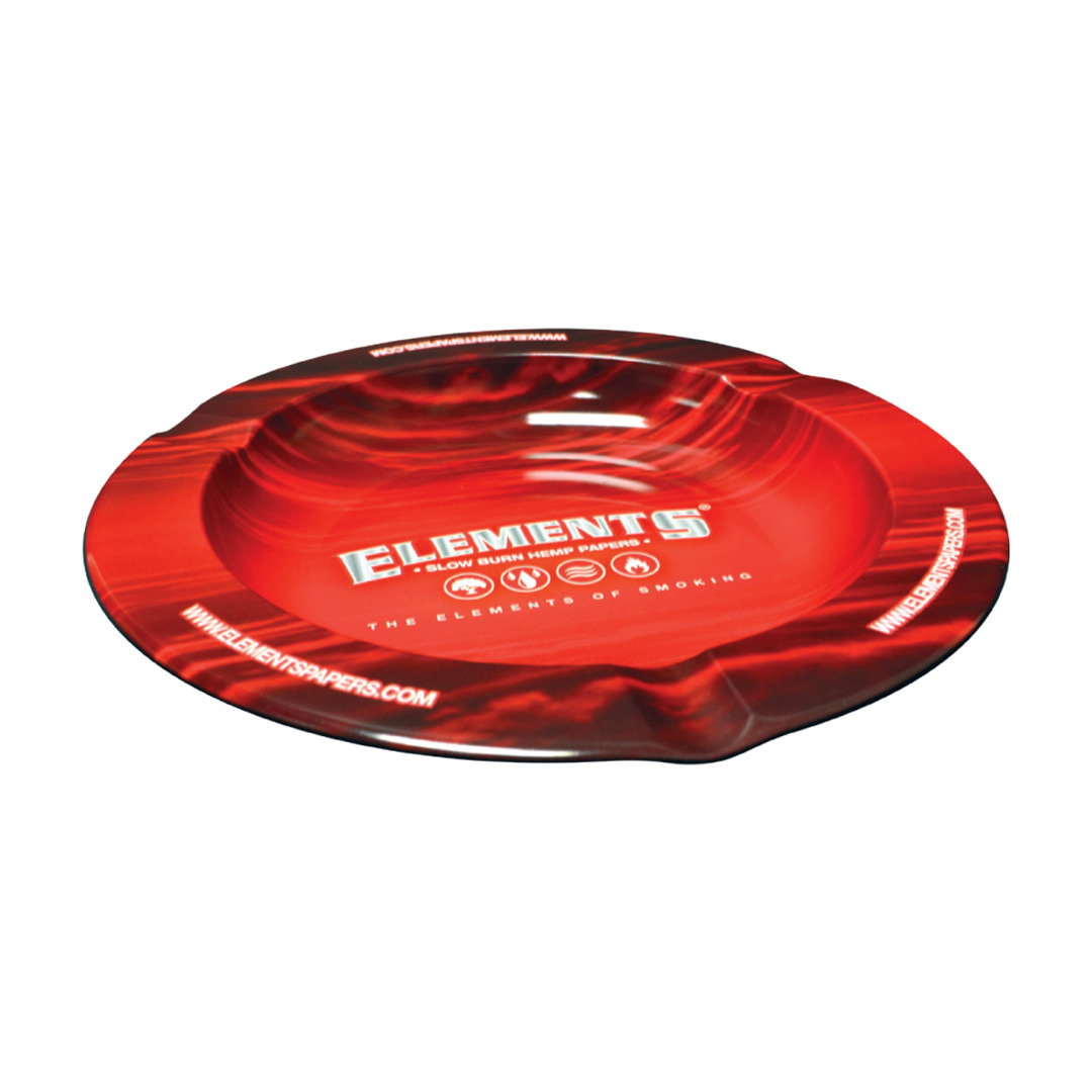 Elements Ashtray Red