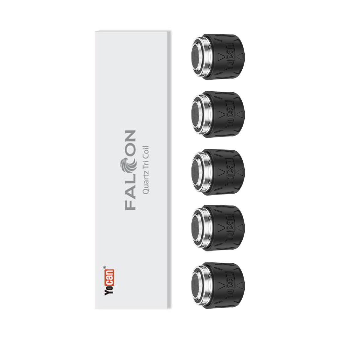 Yocan Falcon 6-IN-1 Triple Quartz Coils