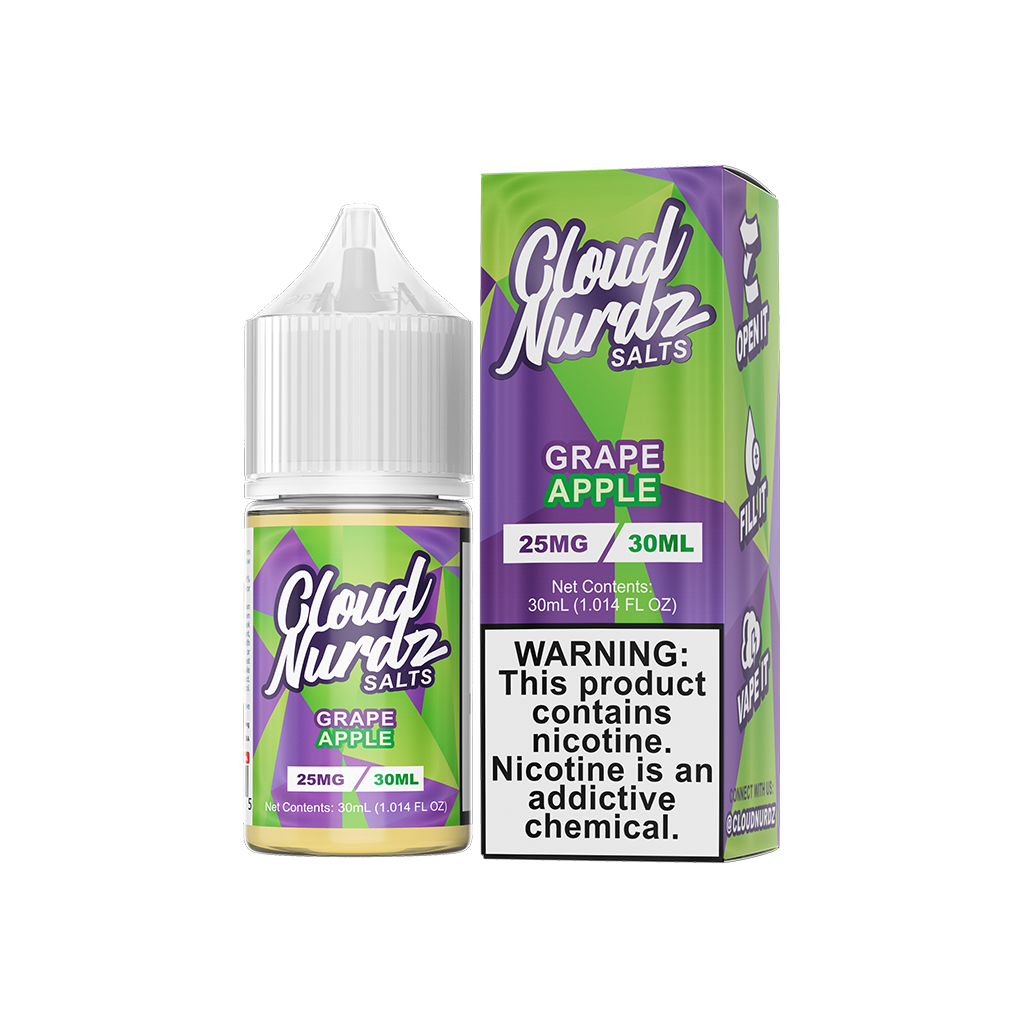 Grape Apple Cloud Nurdz Salt E-Liquid 30mL