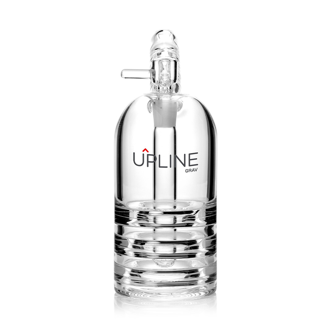 Grav Upline Upright Bubbler