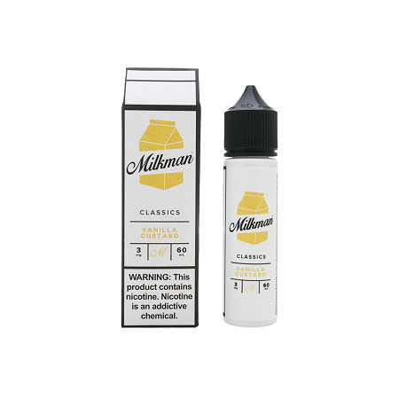 Vanilla Custard The Milkman E-Liquid 60mL