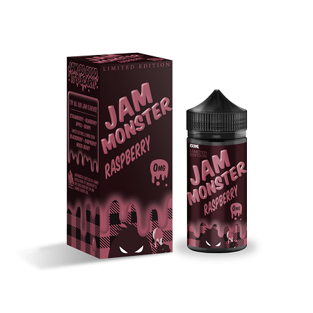 Raspberry Jam Monster E-Liquid 100mL