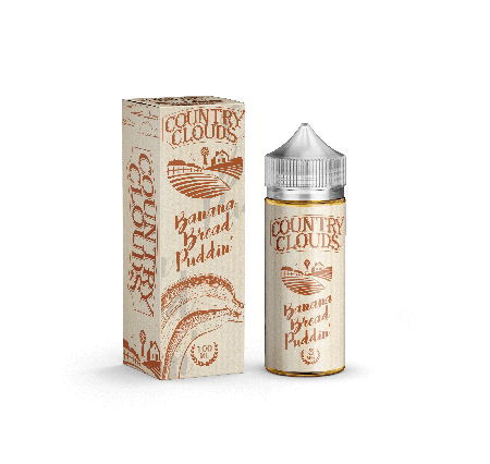 Banana Bread Puddin Country Clouds E-Liquid 100mL