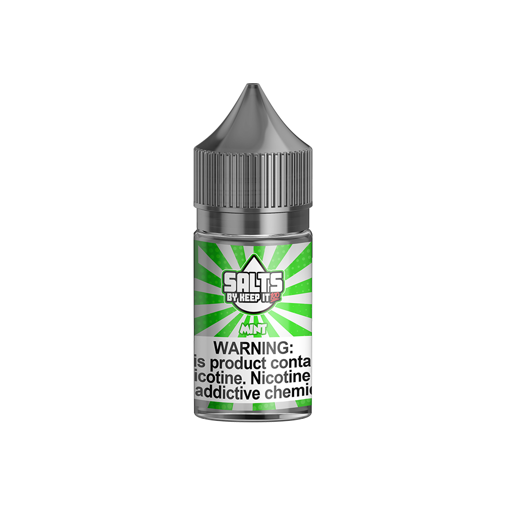 Mint Keep It 100 Salts E-Liquid 30mL