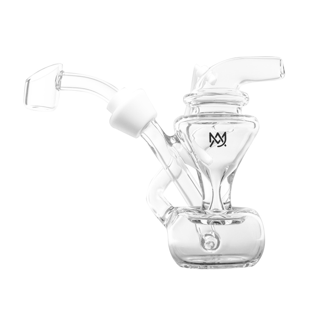 MJ Arsenal Merlin Blunt Bubbler and Mini-Rig