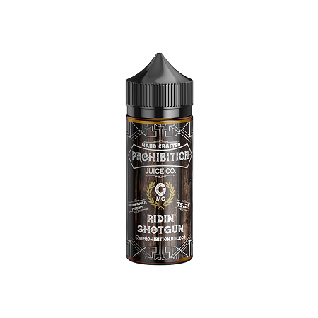 Ridin Shotgun Prohibition Juice Co E-Liquid 100mL