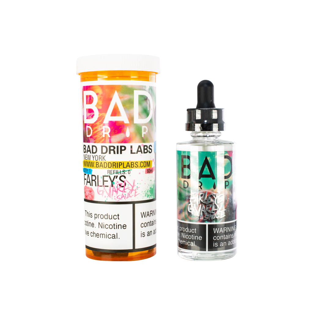 Farley's Gnarly Sauce Bad Drip E-Liquid 60mL