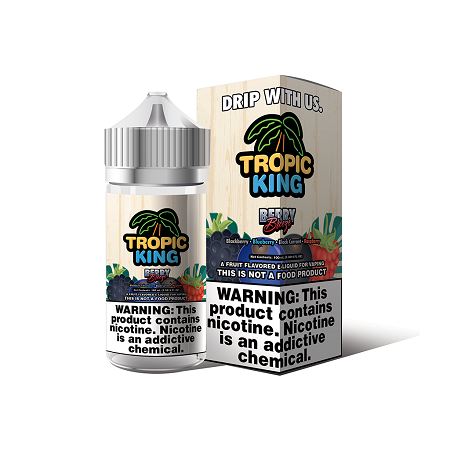 Berry Breeze Tropic King E-Liquid 100mL