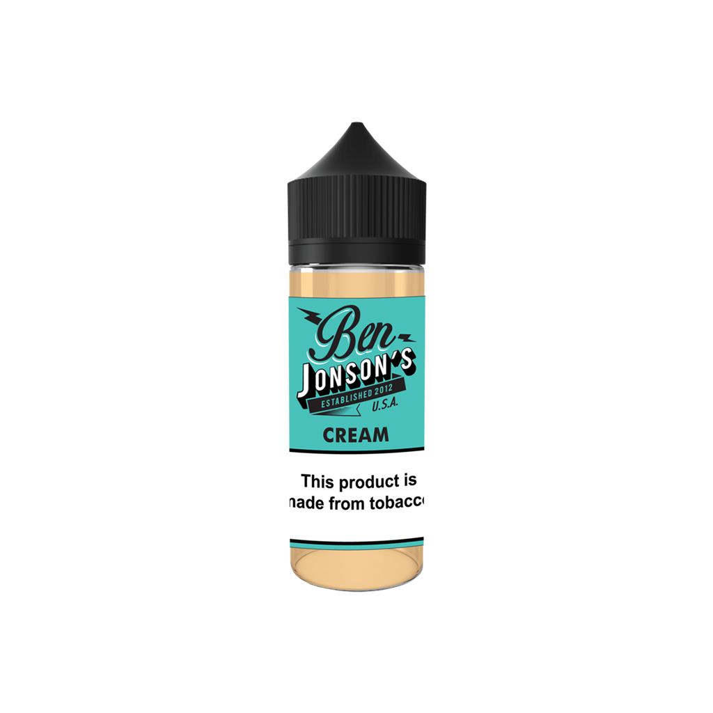 Cream Ben Jonsons E-Liquid 120mL