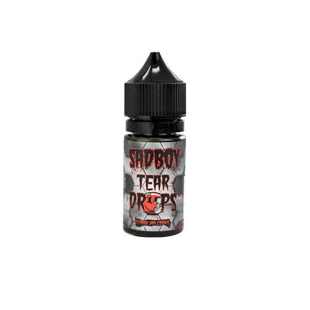 Straw Jam Cookie Salt Tear Drops SadBoy E-Liquid 30mL