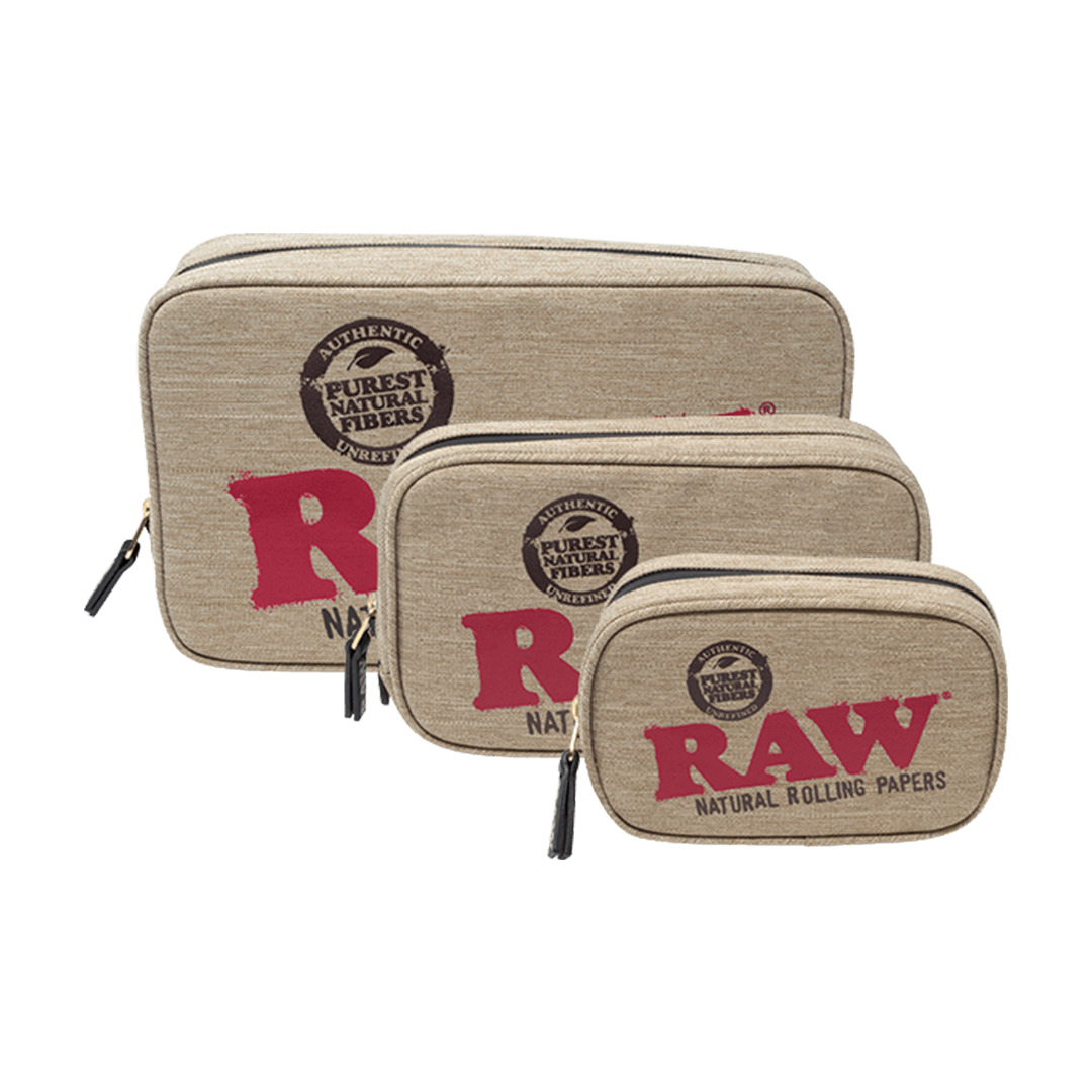 RAW Smell Proof Classic Smokers Pouch