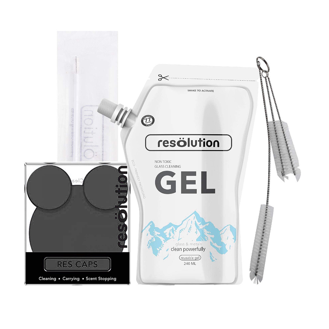 Resolution Res Gel Kit 240mL Black