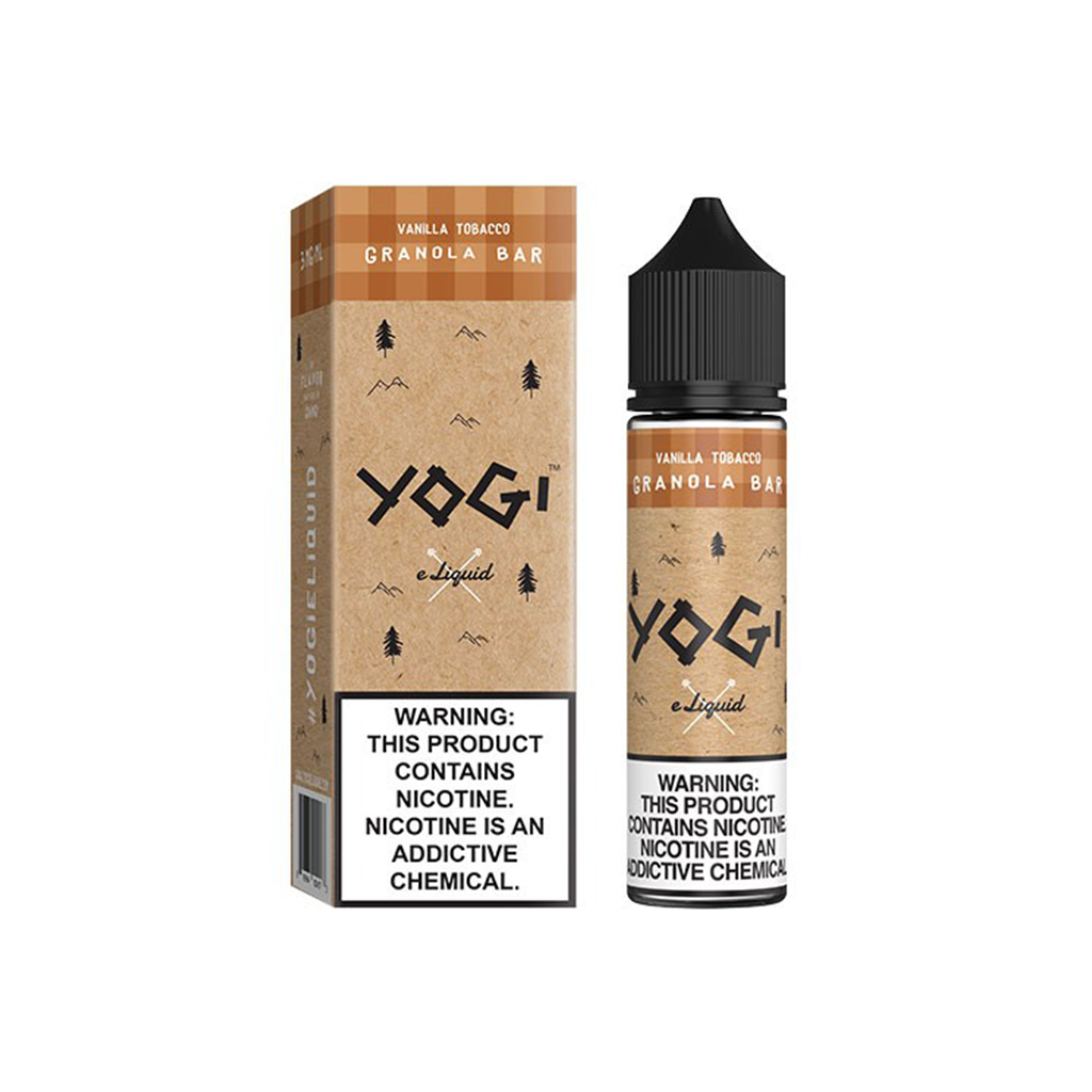 Vanilla Tobacco Granola Bar Yogi E-Liquid 60mL