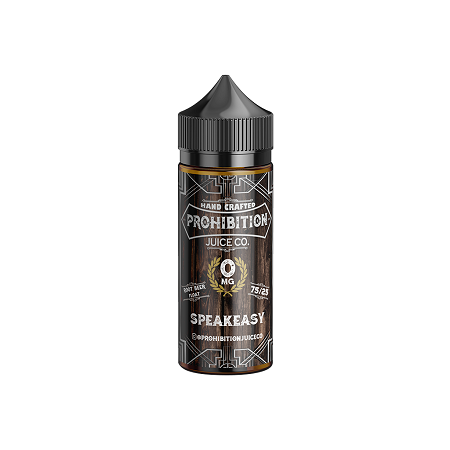 Speakeasy Prohibition Juice Co E-Liquid 100mL