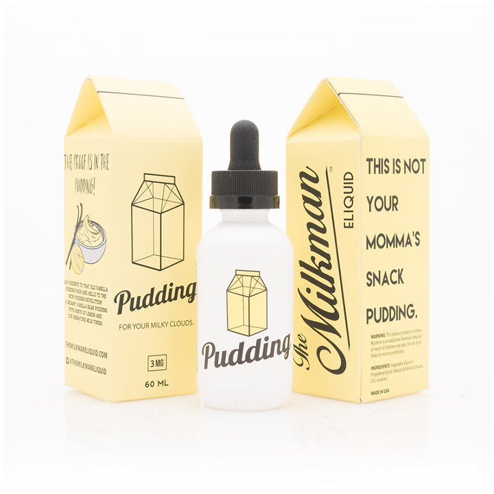 Pudding Milkman E-Liquid 60mL