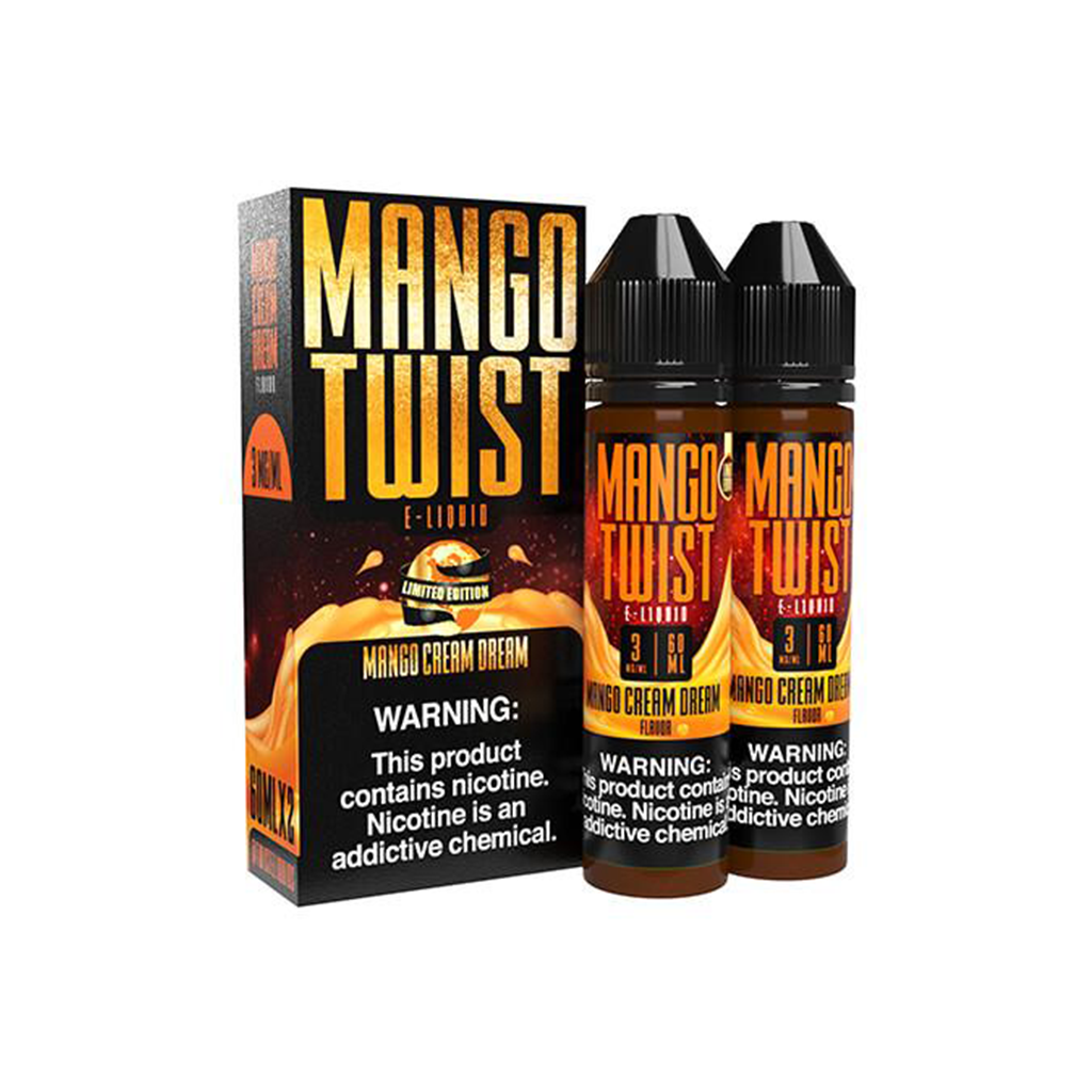 Mango Cream Dream Mango Twist E-Liquid 120mL