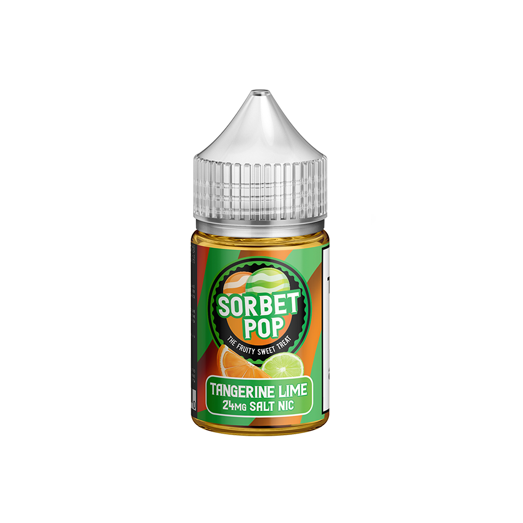 Tangerine Lime Sorbet POP Salt E-Liquid 30mL