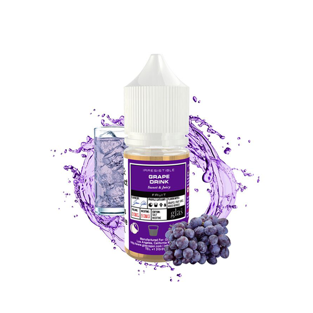 Grape Drink Glas Basix Salt E-Liquid 30mL